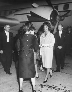 AR6642-A. First Lady Jacqueline Kennedy Arrives at Andrews Air Force Base from Europe - John F. Kennedy Presidential Library & Museum