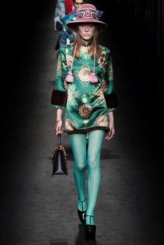 Sfilata Gucci Milano - Collezioni Autunno Inverno 2016-17 - Vogue