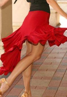 New Latin Salsa Tango Ballroom Dance Dress Skirt S8088 | eBay