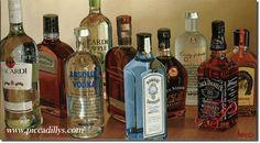 """The painting hanging behind the bar at Tastings - Thomas Arvid's """"Lifting Everyone's Spirits"""""""