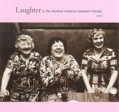 laughter friends