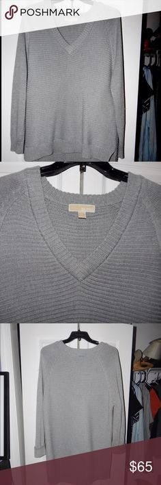 Michael Kohrs over size sweater Super comfy.. Worn only once!! MICHAEL Michael Kors Sweaters Crew & Scoop Necks