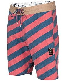 Volcom Men's Stripey Slinger Boardshorts
