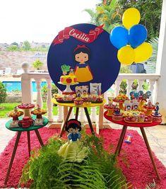 Princess Theme Party, Disney Princess Party, Birthday Party Decorations, Party Themes, Birthday Parties, Sweet Fifteen, Snow White Birthday, Ideas Para Fiestas, Party Props