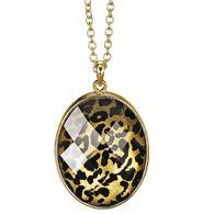 Leopard Print Pendant Necklace from Avon. Order at http://lacreshahale.avonrepresentative.com