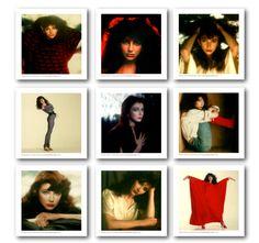 Kate Bush Polaroids by Gered Mankowitz.
