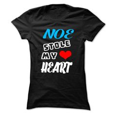 (New Tshirt Great) NOE Stole My Heart 999 Cool Name Shirt at Tshirt Best Selling Hoodies, Tee Shirts