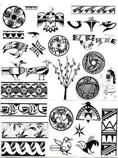 Native American Gallery: Native American Indian Symbols ID-002