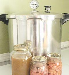 freez, hams, pressur canning, preserv, ham stock