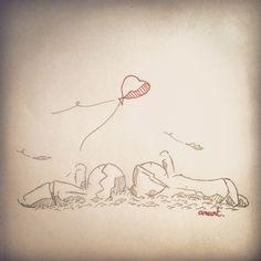 Si j'l'échappe, tu l'attrapes? If i loose, you catch it? #Anart #Draw #Sketch #Inktober #Love #Cute