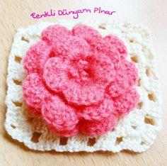 """""""Papatya baharında size güzel bir gün diliyorum """" GÜNAYDIN'LAR ........... .......... #crochet#crocheting#knit#orgu#örgüm#ceyizhazirligi#marifet#designer#mutfak#home#yarn#yarnlove#ensevdiğimtiğ#gulaylaoruyoruz#handmade#craft#kasnak#ilovecrochet#crochetaddict#crochetingisfun#crocheted#follow#instasize#motif#crochetmotif#kirlent#crochetblanket#ensevdiğimtiğ by renkli_dunyam_pnr"""
