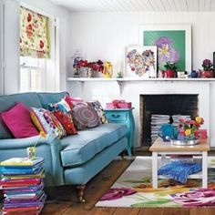 How to update the color palette in your living room