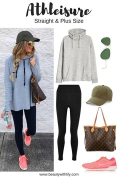 Athleisure Outfit Ideas // Athletic Outfit Ideas // Easy, Comfortable Outfits | http://beautywithlily.com