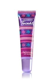 Cranberry Twinkle Lip Gloss - LipLicious - Bath & Body Works. I have worn once so far but I love the shimmer and the smell. so far I like it