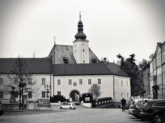 Frýdecký zámek, dříve důležitý pohraniční hrad na ostrohu nad řekou Ostravicí, kt. kontroloval obchodní cestu z Moravy do Těšína. Hrad dostal název Frýdek - Fredeck od německých osadníků; jde o složeninu slov: vride - ochrana, ohrada; eck - roh, ohbí.