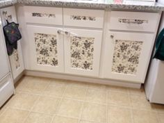 Try This Easy Kitchen Cabinet Makeover That's Renter Friendly