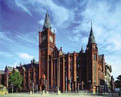Edificio Victoria - Universidad de Liverpool, Inglaterra