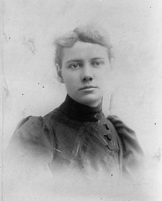Nellie Bly (born Elizabeth Jane Cochrane), Pioneering journalist who went undercover to expose the horrors of the mental health system. Around The World In 80 Days, Travel Around The World, The Bowery Boys, Nellie Bly, Elizabeth Jane, Young Americans, Classic Literature, History Photos, Women In History