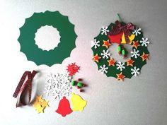 Christmas Reef, Christmas Crafts For Kids To Make, Christmas Card Crafts, Christmas Fairy, Clay Christmas Decorations, Christmas Wreaths, Christmas Ornaments, Theme Noel, Thumbprint Cookies