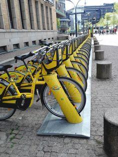 Alepa-fillarit, kaupunkipyörät, Helsinki, Finland // City bikes