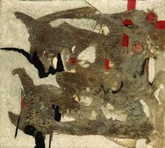 Alberto Burri - Mold (Muffa), 1952    Oil paint and pumice stone on canvas  72.1 x 80 cm (28 3/8 x 31 1/2 in.)