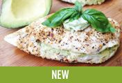 Avocado Artichoke Pesto Stuffed Chicken @California Avocados