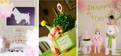 puppy themed birthday party for girls   Top Ten - Dog-Themed Birthday Party Decorations   Match Made on Hudson