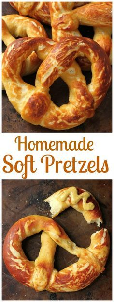 Perfect Soft Pretzels - Soft and chewy homemade pretzels! These are a fun weekend project!