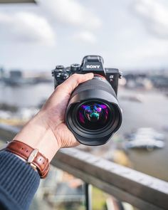 On top of Amsterdam at the with a Sony and the It's such a fun lens to. Camera Tips, Sony Camera, Camera Hacks, Digital Camera, Camera Doodle, Best Small Camera, Camera Sketches, Online Electronics Store, Camera Illustration