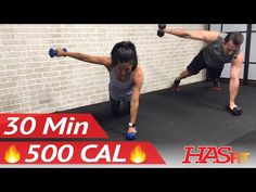 30 Minute HIIT Workout for Fat Loss - High Intensity Workout Exercise - At Home HIIT Home Workout - YouTube