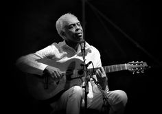 Gilberto Gil   Black And White Photograph by Jean Francois Gil