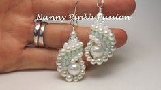 TUTORIAL ~ Island Pearl Dutch Spiral Reversible Shell Earrings