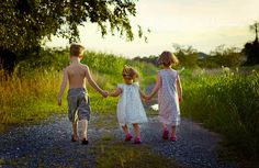 Take long walks with grandchildren
