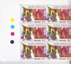 FLAGS and STAMPS: Bangladesh Victory Day, 16 December
