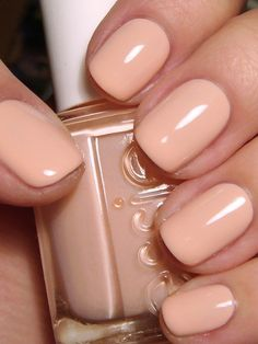 "Polish for Business Nerds: Essie – A Crewed Interest nude nails {Essie's A Crewed Interest} from the Spring 2012 ""Navigate Her"" collection Nails Polish, Nude Nails, Nail Polish Colors, Peach Nails, Neutral Nails, Color Nails, Pastel Nails, Manicure Colors, Hair And Nails"