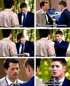 Supernatural speaking the truth