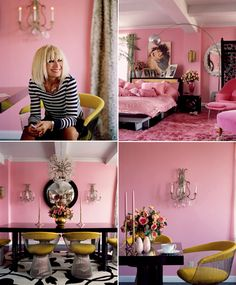 and there is Betsey herself i don't know about yellow chairs but i love all the little details