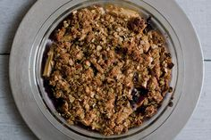 Apple+Blueberry+Crumble