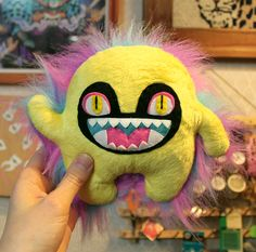 Some monsters I've made (and drawn) recently! - 11 pics http://ift.tt/2mLnMCJ . how to make your own #crafts follow @cutephonecases