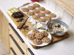 PetitPlat Handmade Miniature Food: Prep' Boards