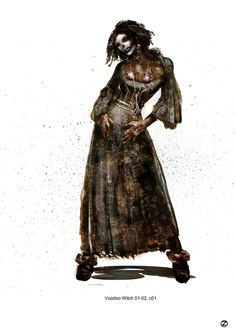Concept Art - Hansel & Gretel: Witch Hunters Wiki - Voodoo Witch