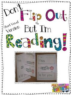 Flip Out Short Vowel/CVC Version is a series of flipbooks that students create.  Each flipbook has pictures and common kindergarten sight words.  The words in this set are:  this, is, little,we,can,get,the,look,at,red,I,want,big,was,it,a,yellow.  I use these books as part of my station rotation.