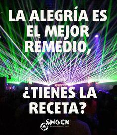La alegría es el mejor remedio, ¿tienes la receta? www.valencianashock.com