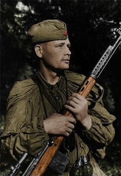 Soviet sniper Chelombitsky, pin by Paolo Marzioli