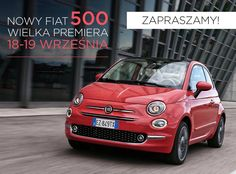 Już dziś wielka premiera Nowego Fiata 500! Wszystkie Panie, które dziś lub jutro przyjdą do Salonu Fiata zobaczyć nową, jeszcze bardziej stylową 500-tkę, będą mogły skorzystać z porad konsultantek firmy Avon dotyczących dbania o urodę. Zapraszamy! Szczegóły: www.fiatpress.pl/press/article/1841