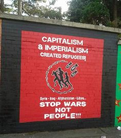 America Wakie Wakie — tiocfaidharlulz:   New Refugees Mural on...