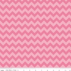 Riley Blake Designs - Chevron - Small Chevron Tone on Tone in Hot Pink