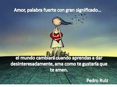 El amor es un sentimiento que no se debe negar, pues nos negaríamos a nosotros mismos
