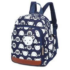 6e0061708a8 Anti-Theft Kids Animal Print Backpack. KleuterschoolLeuke StripModieuze  RugzakSchoolGrote Tassen