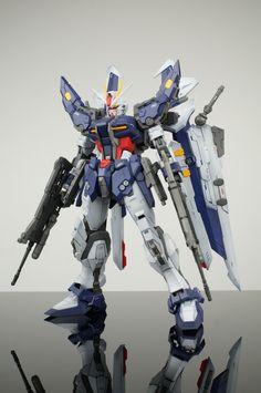 GUNDAM GUY: MG 1/100 Strike Noir - Painted Build